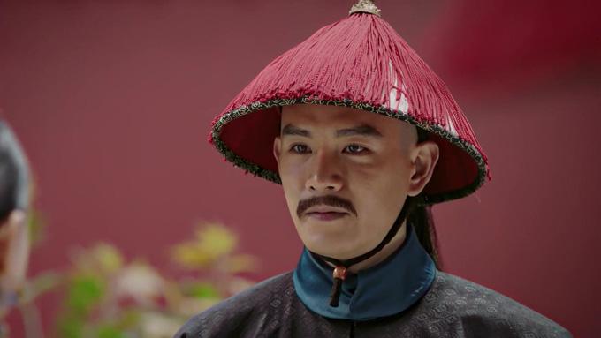 Kinh Siêu vai Lăng Vân Triệt. Ảnh:QQ