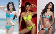 Nhan sắc 6 người đẹp đại diện Việt Nam thi quốc tế 2018