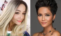 Hoa hậu H'Hen Niê thăm dò ý kiến fan về mái tóc dài và làn da trắng