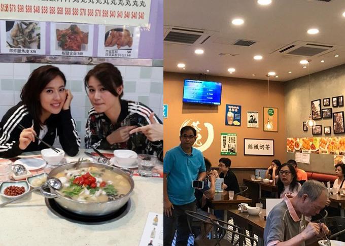 Đi Hong Kong, chớ quên ghé các nhà hàng ủng hộ thần tượng TVB - 1