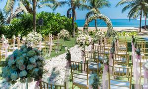 Tổ chức lễ cưới trên biển đẹp như mơ tại Đà Nẵng