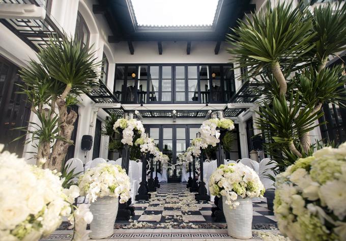 Chiêm ngưỡng không gian tổ chức đám cưới lộng lẫy bậc nhất Châu Á - 1