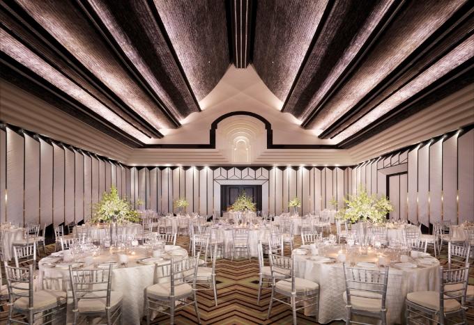 Chiêm ngưỡng không gian tổ chức đám cưới lộng lẫy bậc nhất Châu Á - 4