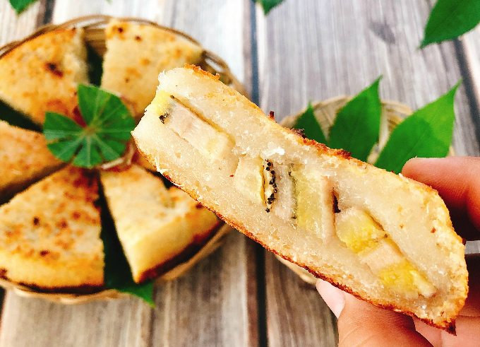 Bánh khoai mì nướng chỉ ngửi thôi cũng mê - 1