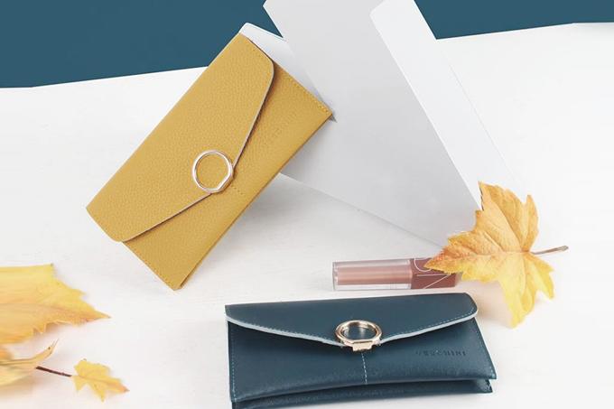 Bóp cầm tay Verchini có nhiều sắc màu trang nhã. Sản phẩm đã giảm 59% còn 199.000 đồng.