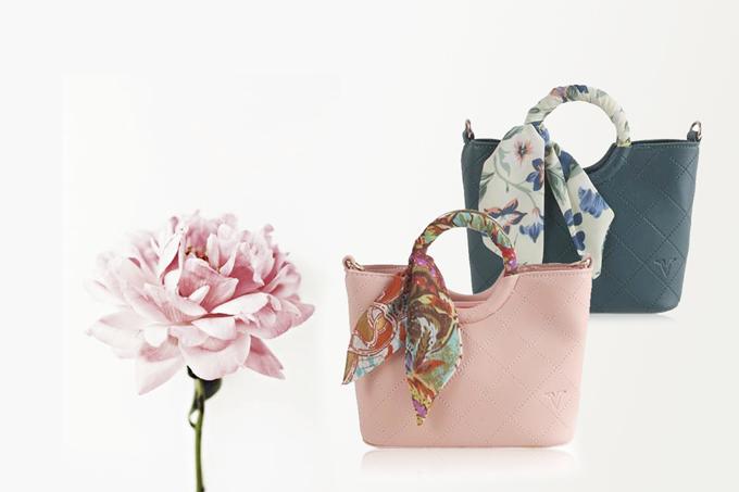 Túi thời trang Verchini màu hồng 009519 Sản phẩm giảm 59% còn 199.000 đồng.