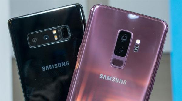 Galaxy Note 8 và Galaxy S9+ có mức giảm mạnh nhất trong chương trình ngày 10/10.