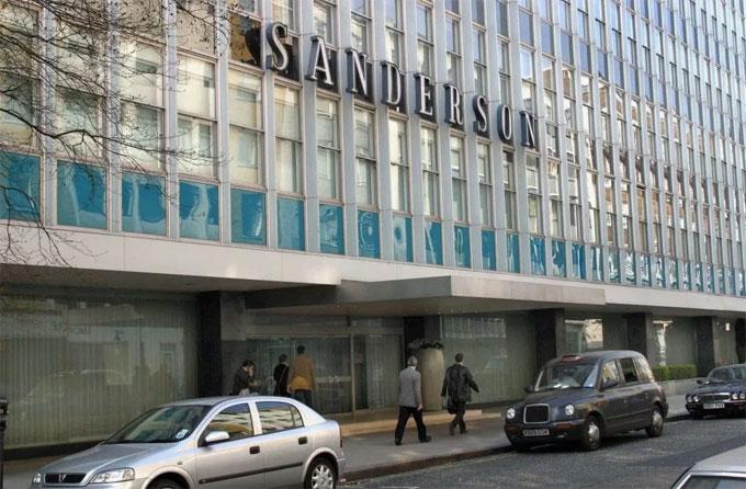 Khách sạn Sanderson là nơi xảy ra nghi án hiếp dâm của C. Ronaldo năm 2005. Ảnh: NN.