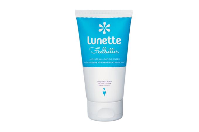 Nước vệ sinh cốc nguyệt san chuyên dụng Lunette Feelbetter dành riêng cho cốc sillicone, hàng nhập khẩu chính hãng (tuýp 100 ml) trắng, giá đã giảm 28% còn 259.000 đồng.