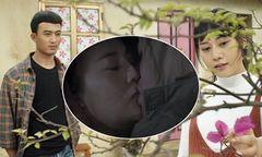 Doãn Quốc Đam bị Phương Oanh cấu 'trả thù' vì hôn quá mạnh bạo
