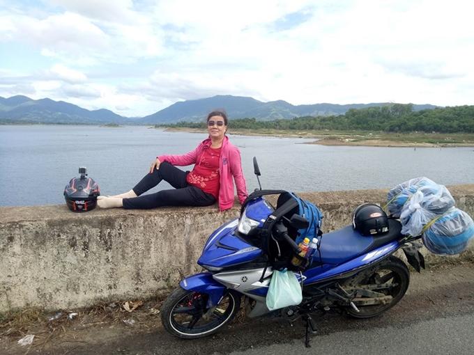 Cô Nhỏ ở hồ thủy điện Krông năng - Đắk Lắk