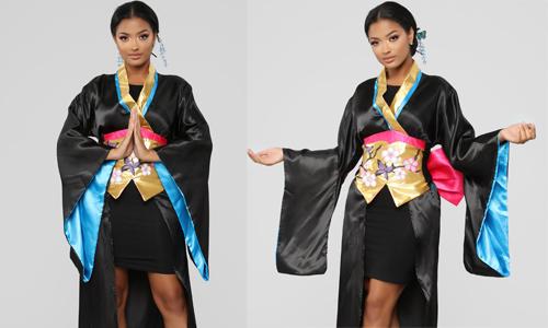 Trang phục Halloween hình tượng geisha bị phản đối