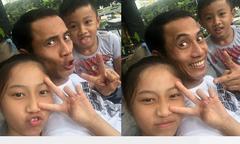 Vợ Phạm Anh Khoa suýt khóc khi con trai yêu cầu ba hôn mẹ