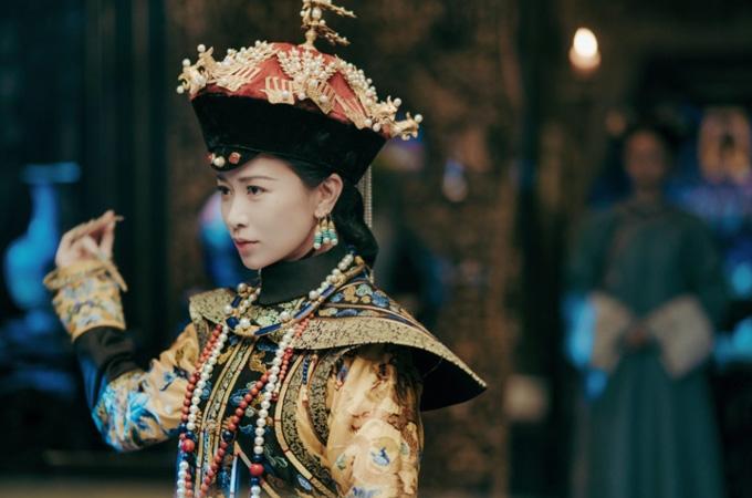Xa Thi Mạn vai kế hoàng hậu trong phim Diên Hy công lược. Ảnh: iQiyi
