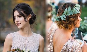 11 kiểu tóc duyên dáng cho phù dâu tóc dài