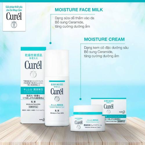 Các sản phẩm của Curél phù hợp với nhóm phụ nữ hiện đại, năng động, cá tính, muốn tìm hiểu và quan tâm tới sức khỏe làn da từ bên trong.