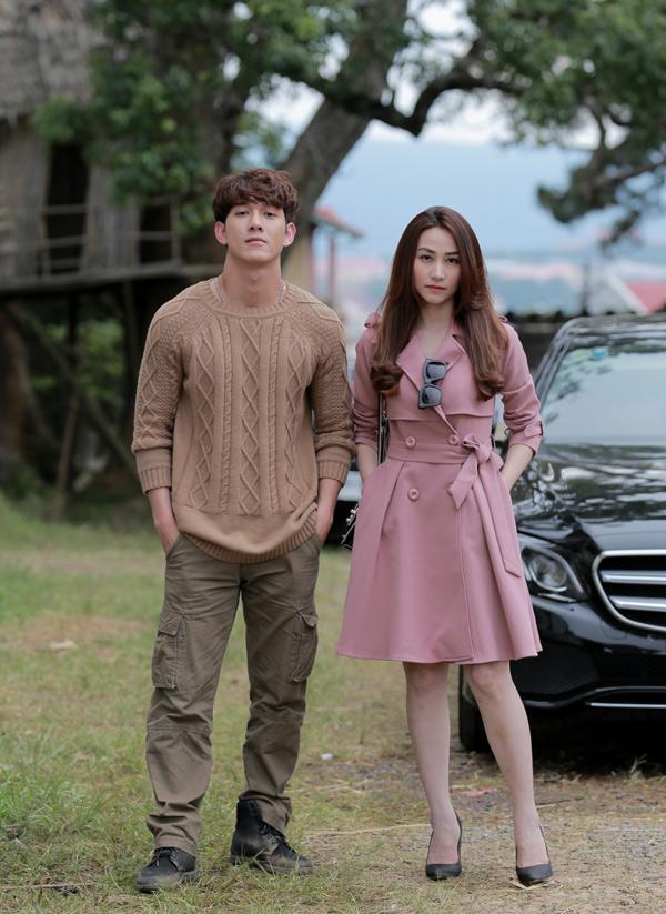 Ca sĩ Song Luân diễn cặp cùng Ngân Khánh trong phim này.
