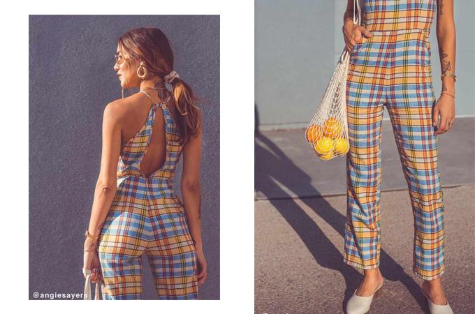 Trang phục áo liền quần dành cho các bạn gái yêu thích những tông màu nổi bật và muốn mình trở thành tâm điểm mỗi khi rong ruổi phố xá.