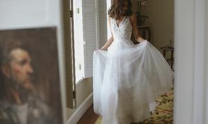 Váy cưới ấn tượng với phong cách mới