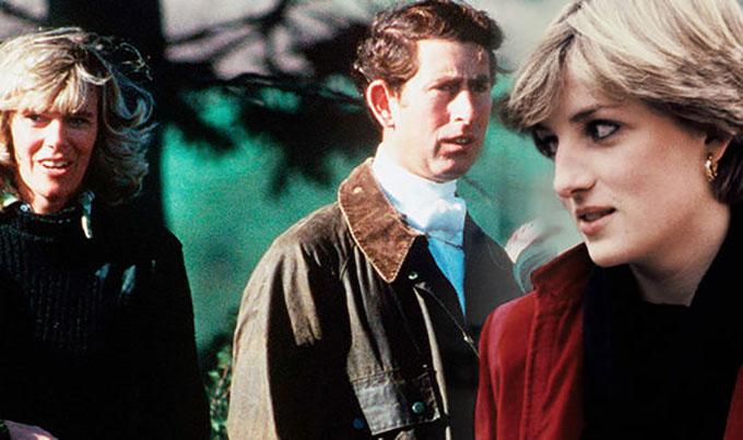 Thái tử Charles vẫn dành tình yêu sâu đậm cho người tình Camilla kể cả sau khi đã kết hôn với Diana. Ảnh: Express.