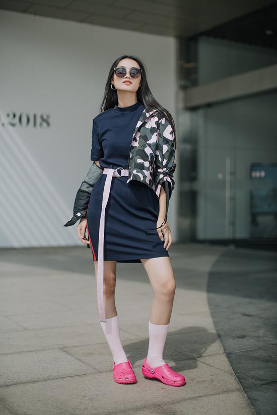 Quỳnh Anh - cô nàng có khuôn mặt ấn tượng nhất team Võ Hoàng Yến.