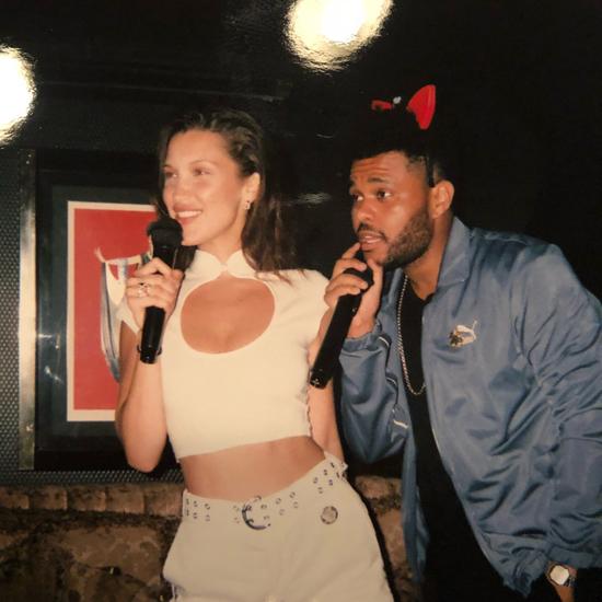 Giọng ca Star Boy và mỹ nhân gợi cảm của Mỹ bị đồn tái hợp hồi tháng 5 sau khi hôn nhau tại liên hoan phim Cannes. Trước đây, cặp đôi này cũng đã hẹn hò vào năm 2016. Đến tháng 1/2017, The Weeknd nảy nở tình yêu với Selena Gomez và có mối tình kéo dài 10 tháng.