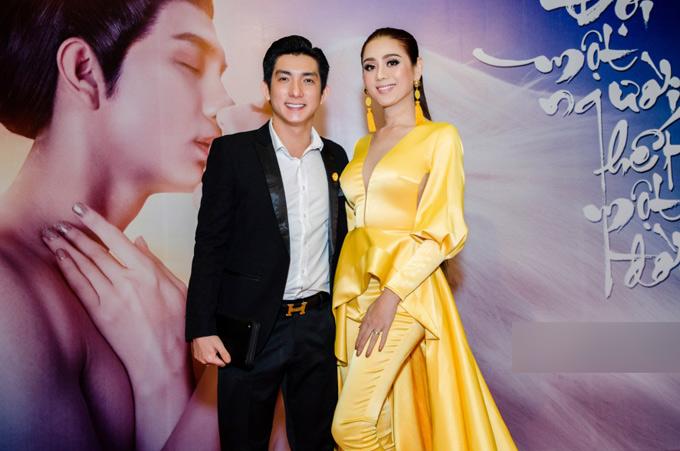 Bảo Duy - chồng cũ của Phi Thanh Vân đến ủng hộ ca sĩ chuyển giới.