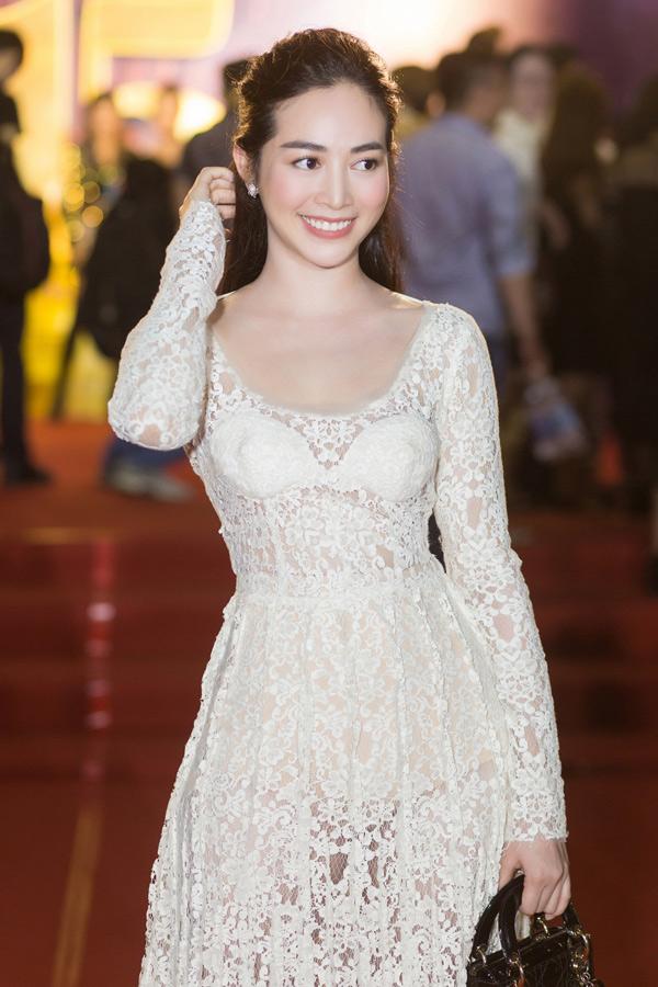 Diễn viên Mai Thanh Hà điệu đà với thiết kế của Lâm Gia Khang.