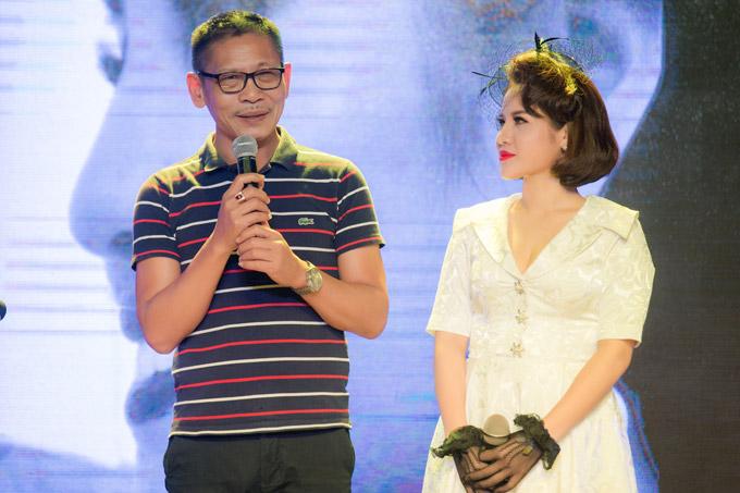 NSƯT Đức Long cũng dành nhiều lời khen ngợi cho giọng hát của Nhã Thanh.