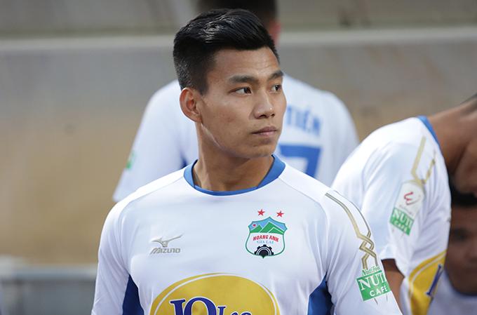 Văn Thanh là hậu vệ phải số một ở HAGL và tuyển Việt Nam. Ảnh: Đương Phạm.