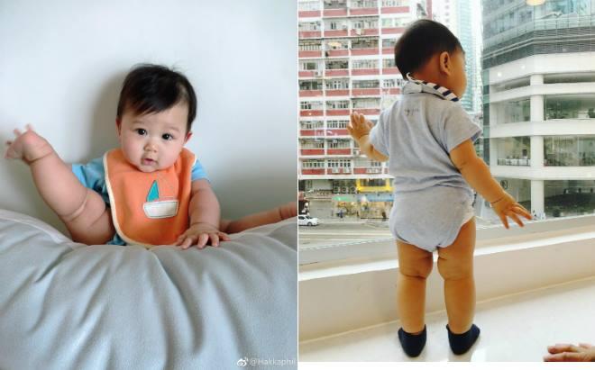 Con trai Hồ Hạnh Nhi mải ngắm bánh kem trong sinh nhật 1 tuổi - 1