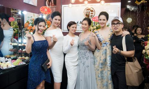 Hoa hậu Ngọc Hân, Á hậu Hoàng Anh dự khai trương MaiPhan Makeup Artist