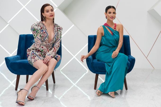 Hồ Ngọc Hà thị phạm thí sinh Asias Next Top quay quảng cáo - 9