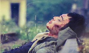 Doãn Quốc Đam thở hổn hển tại hậu trường Cảnh 'soái ca' bị truy sát