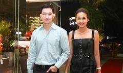Hoa hậu Ngọc Châu sánh đôi Võ Cảnh dự event ở Đà Nẵng