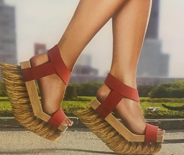 Những kiểu giày kỳ quái  - 1