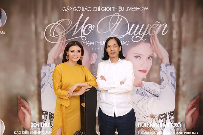 Nhạc sĩ Thanh Phương đảm nhận vai trò đạo diễn âm nhạc của liveshow. Đêm nhạc diễn ra vào ngày 3/11 tại Cung Văn hóa Việt - Xô (Hà Nội).