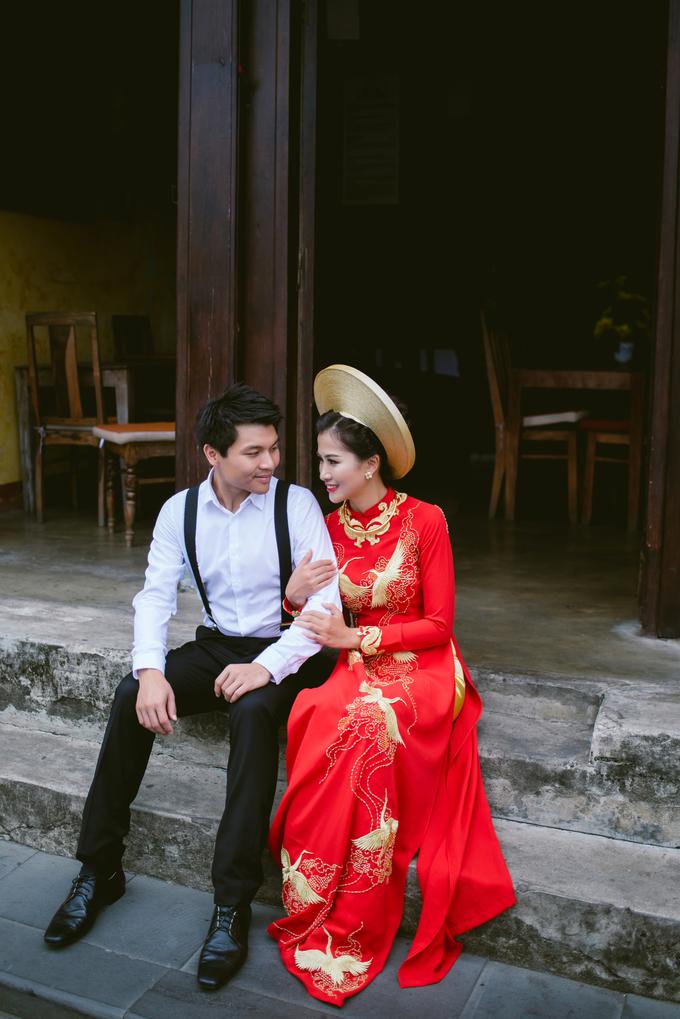 Ảnh cưới chụp ở Hội An, Lý Sơn của uyên ương người Lào