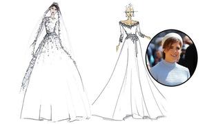 Công chúa Eugenie sẽ diện váy cưới của nhà mốt nước Anh