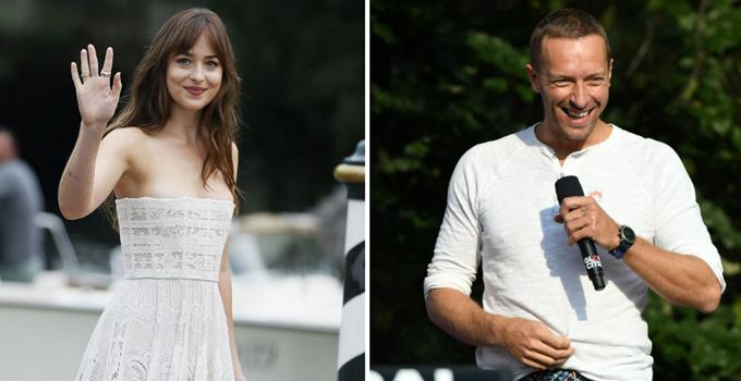 Dakota Johnson và Chris Martin đã hẹn hò hơn một năm nay. Thủ lĩnh Coldplay ly hôn nữ diễn viên Gwyneth Paltrow từ năm 2014 và có hai con riêng.