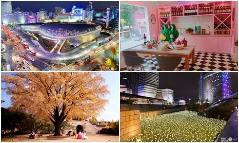 10 điểm miễn phí cho người lần đầu du lịch Seoul vào mùa thu