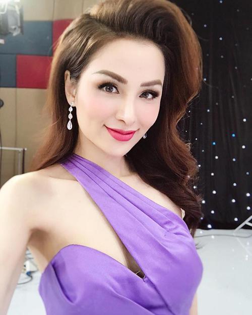 Nhan sắc hiện tại của Hoa hậu Diễm Hương.