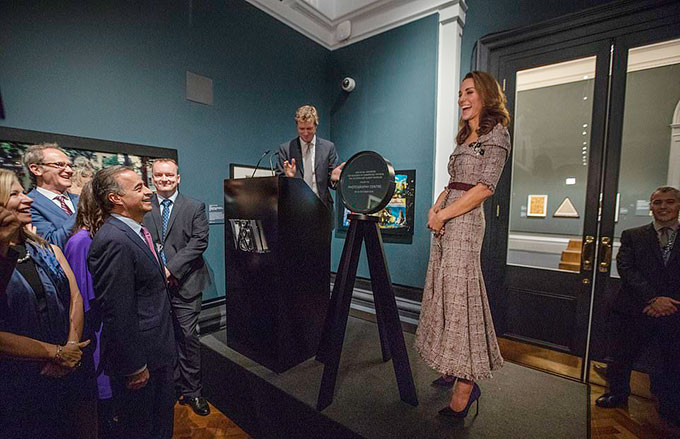 Duchess of Cambridge stuns in Erdem as she opens new V&A photography centre - two days before George and Charlottes starring role in the second royal wedding of the year - 10