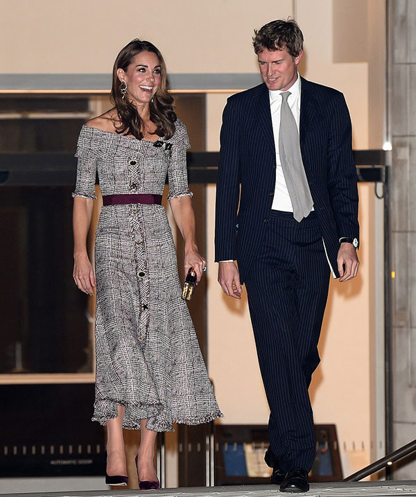 Duchess of Cambridge stuns in Erdem as she opens new V&A photography centre - two days before George and Charlottes starring role in the second royal wedding of the year - 2