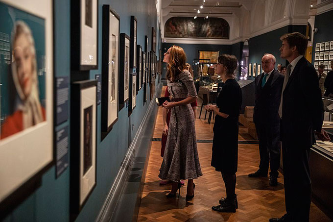 Duchess of Cambridge stuns in Erdem as she opens new V&A photography centre - two days before George and Charlottes starring role in the second royal wedding of the year - 7
