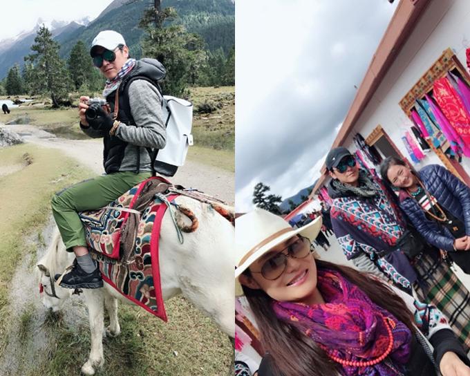 Vợ chồng Mã Đức Chung đi du lịch kỷ niệm 25 năm ngày cưới