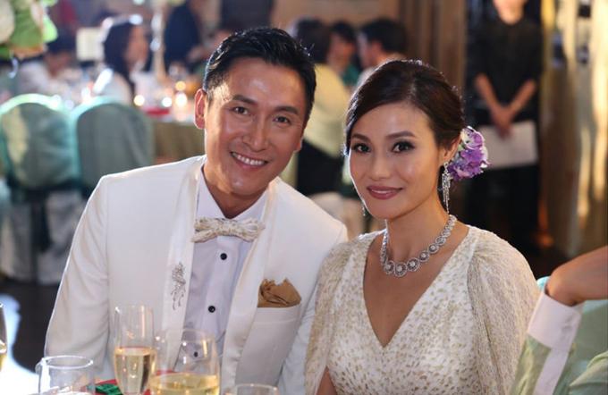 Mã Đức Chung và bà xã Trương Tiểu Lan. Ảnh: Yahoo