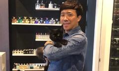 Trấn Thành quay video hướng dẫn cách cho mèo uống thuốc