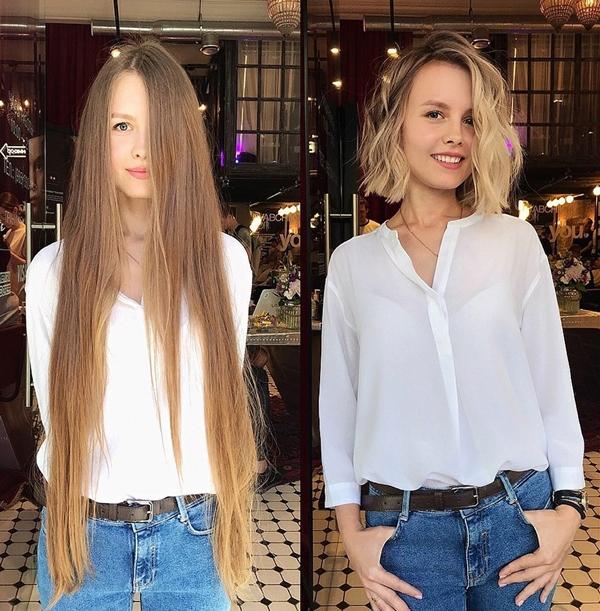 Chẳng cần đụng dao kéo, 10 cô gái lột xác chỉ nhờ thay đổi kiểu tóc