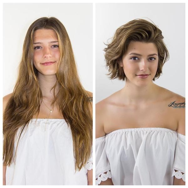 Chẳng cần đụng dao kéo, 10 cô gái lột xác chỉ nhờ thay đổi kiểu tóc - 2